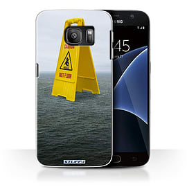 STUFF4 Case/Cover for Samsung Galaxy S7/G930 / Wet Floor Design / Imagine It Collection Mobile phones