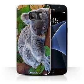 STUFF4 Case/Cover for Samsung Galaxy S7/G930 / Koala Bear Design / Wildlife Animals Collection Mobile phones