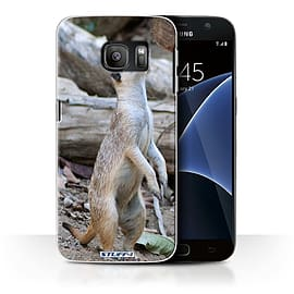 STUFF4 Case/Cover for Samsung Galaxy S7/G930 / Meerkat Design / Wildlife Animals Collection Mobile phones