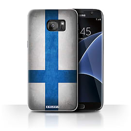 STUFF4 Case/Cover for Samsung Galaxy S7 Edge/G935 / Finland/Finnish Design / Flags Collection Mobile phones