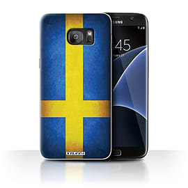 STUFF4 Case/Cover for Samsung Galaxy S7 Edge/G935 / Sweden/Swedish Design / Flags Collection Mobile phones