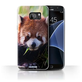 STUFF4 Case/Cover for Samsung Galaxy S7 Edge/G935 / Racoon Design / Wildlife Animals Collection Mobile phones