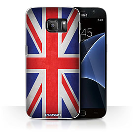 STUFF4 Case/Cover for Samsung Galaxy S7/G930 / Great Britain/British Design / Flags Collection Mobile phones