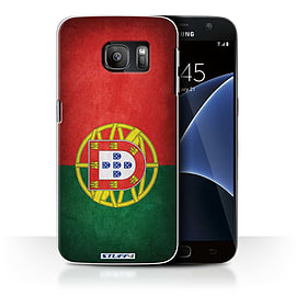 STUFF4 Case/Cover for Samsung Galaxy S7/G930 / Portugal/Portuguese Design / Flags Collection Mobile phones