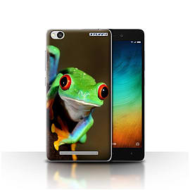 STUFF4 Case/Cover for Xiaomi Redmi 3 / Frog Design / Wildlife Animals Collection Mobile phones