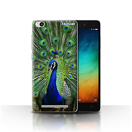 STUFF4 Case/Cover for Xiaomi Redmi 3 / Peacock Design / Wildlife Animals Collection Mobile phones
