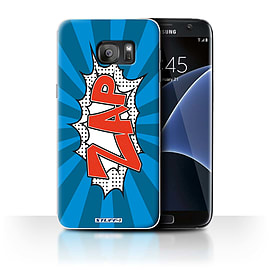 STUFF4 Case/Cover for Samsung Galaxy S7 Edge/G935 / Zap Design / Comics/Cartoon Words Collection Mobile phones