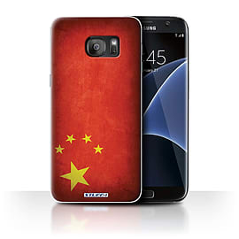 STUFF4 Case/Cover for Samsung Galaxy S7 Edge/G935 / China/Chinese Design / Flags Collection Mobile phones