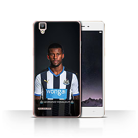 Official Newcastle United FC Case/Cover for Oppo F1/Wijnaldum Design/NUFC Football Player 15/16 Mobile phones