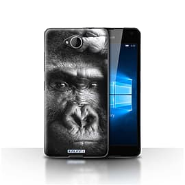 STUFF4 Case/Cover for Microsoft Lumia 650 / Gorilla/Monkey Design / Wildlife Animals Collection Mobile phones