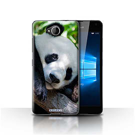 STUFF4 Case/Cover for Microsoft Lumia 650 / Panda Bear Design / Wildlife Animals Collection Mobile phones