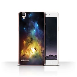 Official Chris Cold Case/Cover for Oppo F1 / Arcuarius Nebula Design / Alien World Cosmos Collection Mobile phones