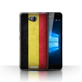STUFF4 Case/Cover for Microsoft Lumia 650 / Belgium Design / Flags Collection Mobile phones