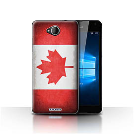 STUFF4 Case/Cover for Microsoft Lumia 650 / Canada/Canadian Design / Flags Collection Mobile phones