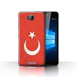 STUFF4 Case/Cover for Microsoft Lumia 650 / Turkey/Turkish Design / Flags Collection Mobile phones