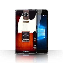 STUFF4 Case/Cover for Microsoft Lumia 650 / Sunburst Electric Design / Guitar Collection Mobile phones