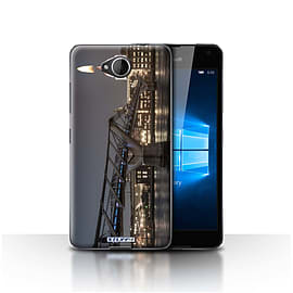 STUFF4 Case/Cover for Microsoft Lumia 650 / London's Burning Design / Imagine It Collection Mobile phones