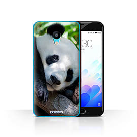 STUFF4 Case/Cover for Meizu M3 / Panda Bear Design / Wildlife Animals Collection Mobile phones
