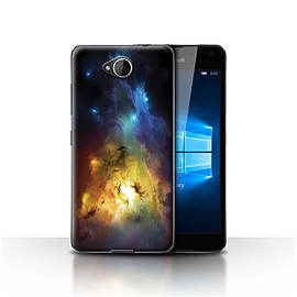 Official Chris Cold Case/Cover for Microsoft Lumia 650/Arcuarius Nebula Design/Alien World Cosmos Mobile phones