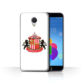 Official Sunderland AFC Case/Cover for Meizu M3 Note/White Design/SAFC Football Club Crest Mobile phones