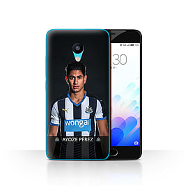 Official Newcastle United FC Case/Cover for Meizu M3/Ayoze Design/NUFC Football Player 15/16 Mobile phones