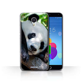 STUFF4 Case/Cover for Meizu M3 Note / Panda Bear Design / Wildlife Animals Collection Mobile phones