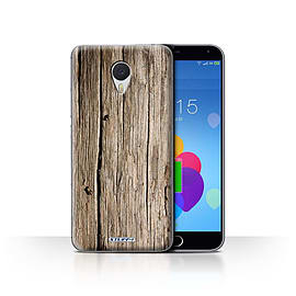 STUFF4 Case/Cover for Meizu M3 Note / Driftwood Design / Wood Grain Effect/Pattern Collection Mobile phones