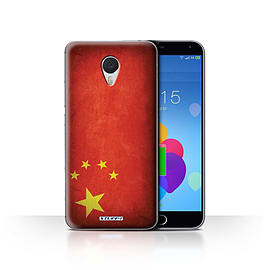 STUFF4 Case/Cover for Meizu M3 Note / China/Chinese Design / Flags Collection Mobile phones