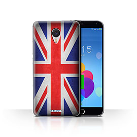 STUFF4 Case/Cover for Meizu M3 Note / Great Britain/British Design / Flags Collection Mobile phones