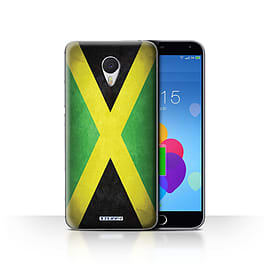 STUFF4 Case/Cover for Meizu M3 Note / Jamaica/Jamaican Design / Flags Collection Mobile phones