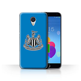 Official Newcastle United FC Case/Cover for Meizu M3 Note/Mono/Blue Design/NUFC Football Crest Mobile phones