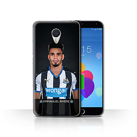 Official Newcastle United FC Case/Cover for Meizu M3 Note/Rivi?re Design/NUFC Football Player 15/16 Mobile phones