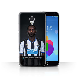Official Newcastle United FC Case/Cover for Meizu M3 Note/Sissoko Design/NUFC Football Player 15/16 Mobile phones