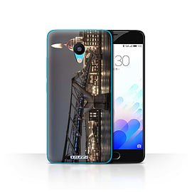 STUFF4 Case/Cover for Meizu M3 / London's Burning Design / Imagine It Collection Mobile phones