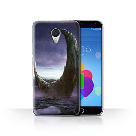Official Chris Cold Case/Cover for Meizu M3 Note/Broken Moon Design/Alien World Cosmos Mobile phones