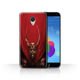 Official Chris Cold Case/Cover for Meizu M3 Note / Red Duke Design / Dark Art Demon Collection Mobile phones