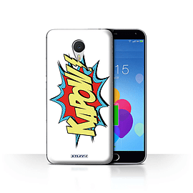 STUFF4 Case/Cover for Meizu M3 Note / Kapow! Design / Comics/Cartoon Words Collection Mobile phones