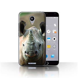 STUFF4 Case/Cover for Meizu M2 / Rhino Design / Wildlife Animals Collection Mobile phones