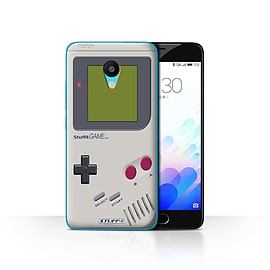 STUFF4 Case/Cover for Meizu M3 / Nintendo Game Boy Design / Games Console Collection Mobile phones