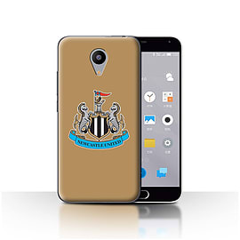 Official Newcastle United FC Case/Cover for Meizu M2/Colour/Gold Design/NUFC Football Crest Mobile phones