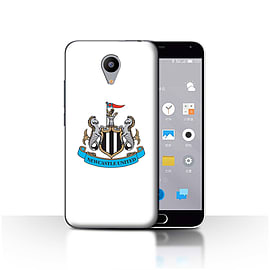 Official Newcastle United FC Case/Cover for Meizu M2/Colour/White Design/NUFC Football Crest Mobile phones
