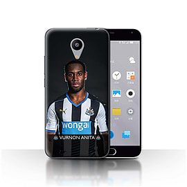Official Newcastle United FC Case/Cover for Meizu M2/Anita Design/NUFC Football Player 15/16 Mobile phones