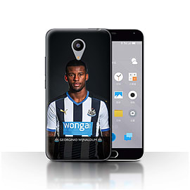 Official Newcastle United FC Case/Cover for Meizu M2/Wijnaldum Design/NUFC Football Player 15/16 Mobile phones