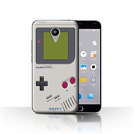 STUFF4 Case/Cover for Meizu M2 / Nintendo Game Boy Design / Games Console Collection Mobile phones