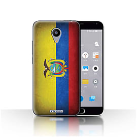 STUFF4 Case/Cover for Meizu M2 / Ecuador/Ecuadorian Design / Flags Collection Mobile phones