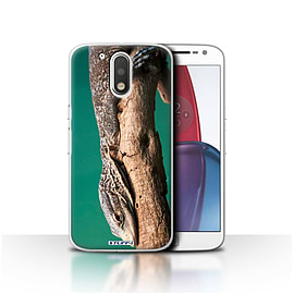 STUFF4 Case/Cover for Motorola Moto G4 Plus 2016 / Lizard Design / Wildlife Animals Collection Mobile phones