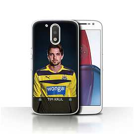 Newcastle United FC Case/Cover for Motorola Moto G4 Plus 2016/Krul Design/NUFC Football Player 15/16 Mobile phones