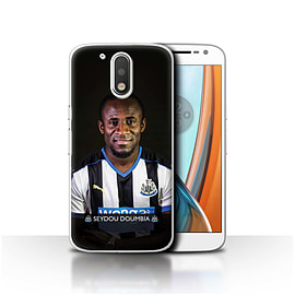 Newcastle United FC Case/Cover for Motorola Moto G4 2016/Doumbia Design/NUFC Football Player 15/16 Mobile phones