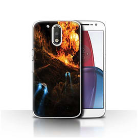 Chris Cold Case/Cover for Motorola Moto G4 Plus 2016/Chaos Unleashed Design/Alien World Cosmos Mobile phones