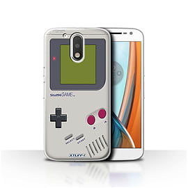 STUFF4 Case/Cover for Motorola Moto G4 2016 / Nintendo Game Boy Design / Games Console Collection Mobile phones